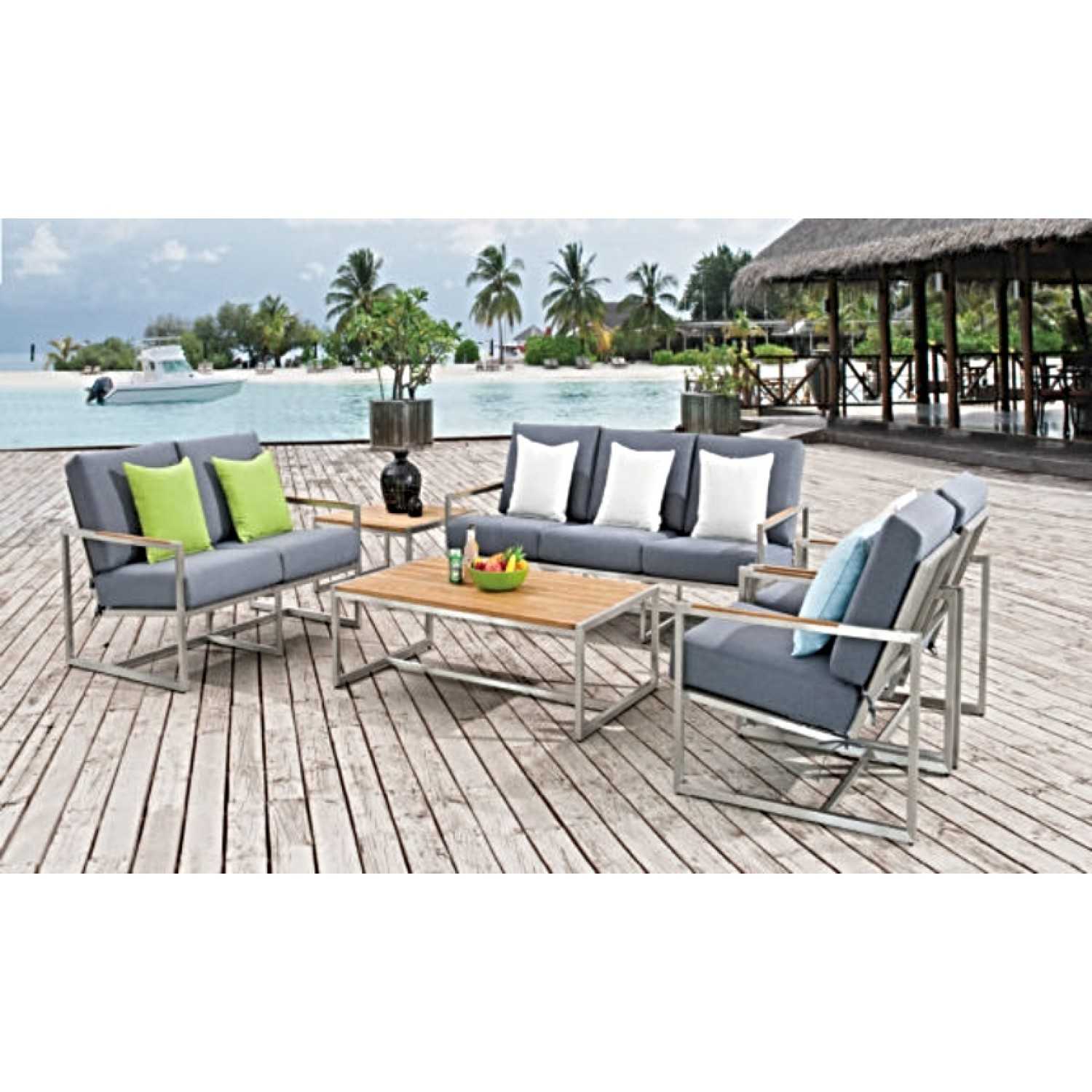 Acacia Outdoor Sofa Set