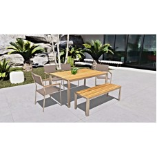 Acacia Outdoor Dining Set