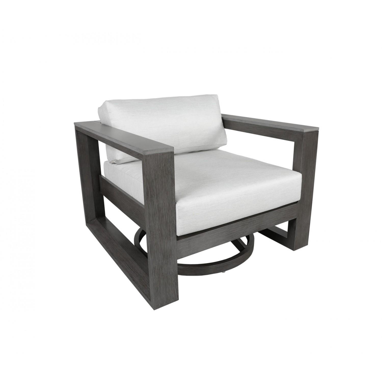 Belvedere Outdoor Swivel Chair