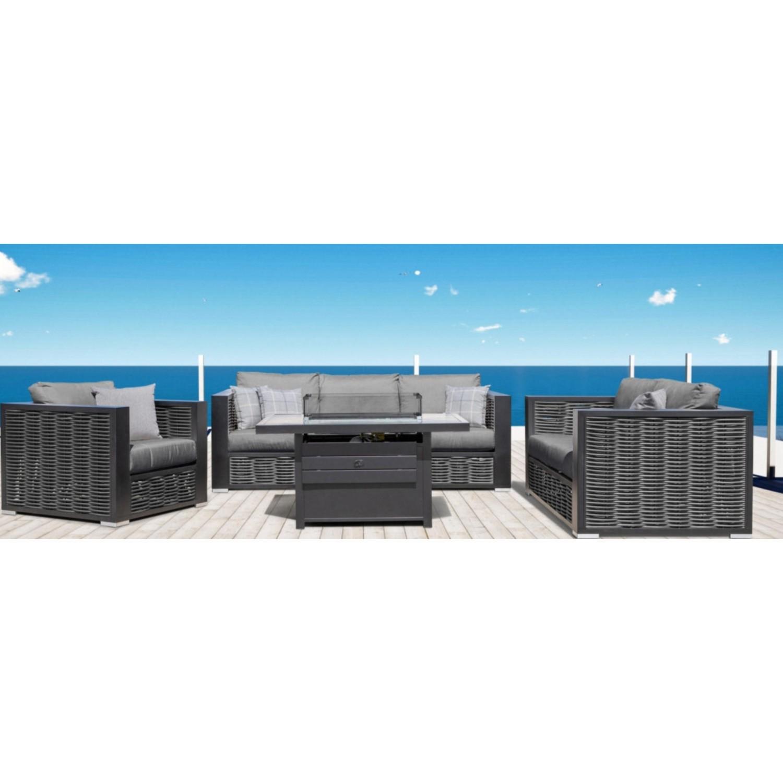 Chestnut Lux Outdoor Sofa Set