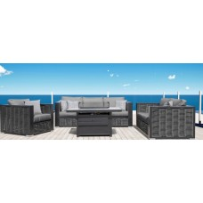 Chestnut Lux Outdoor Sofa Set