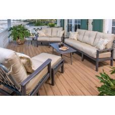 Hampton Outdoor Love Seat Set