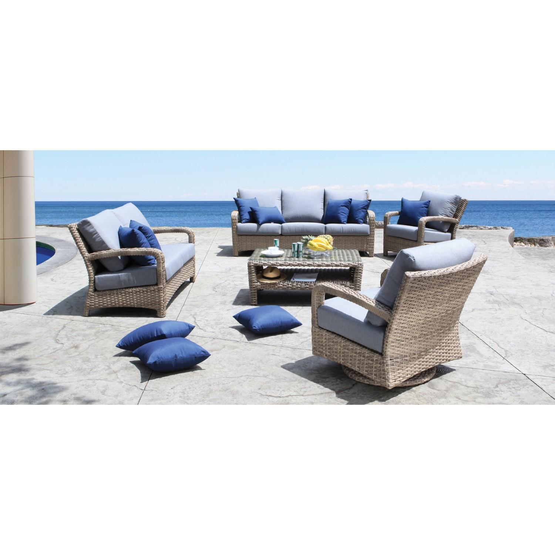 Pacific Outdoor Sofa Set