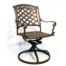 Valencia Outdoor Swivel Dining Chair