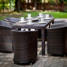 Almond Outdoor Dining Set