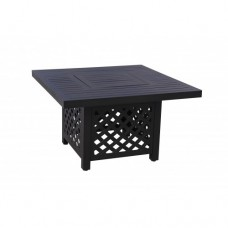 Athens Square Fire Table