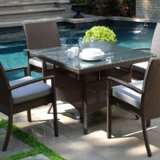 Bali Square Outdoor Dining Set