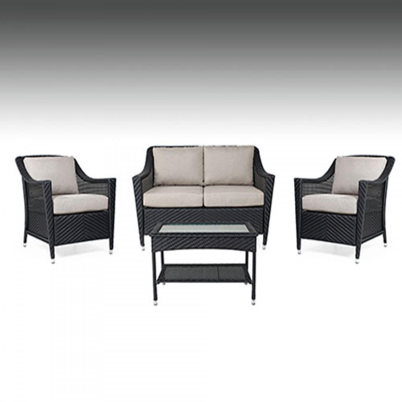 Camus Outdoor Love Seat Set