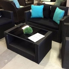 Curtis Outdoor Love Seat Set