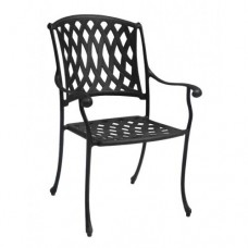 Napoli Outdoor Cast Aluminum Dining Chair