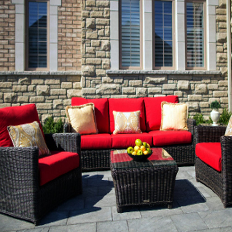 Phal Outdoor Love Seat Set