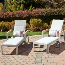 Madeira Outdoor Chaise Lounger