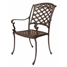Valencia Outdoor Cast Aluminum Dining Chair