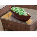 Waterlily Outdoor Love Seat Set