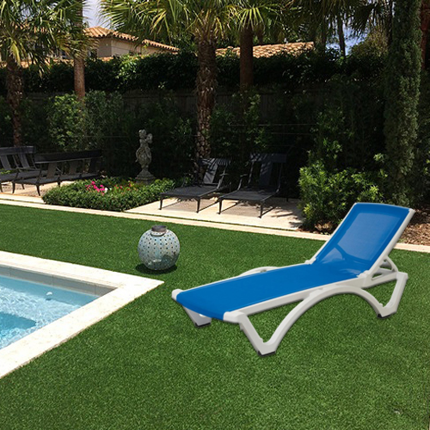 Baja Outdoor Chaise Lounger
