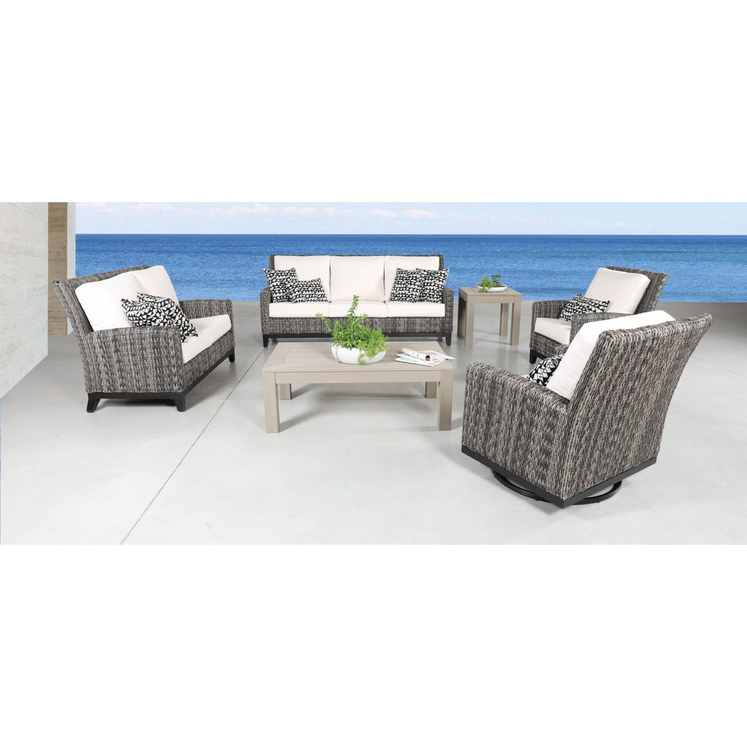 Celestine Outdoor Loveseat Set