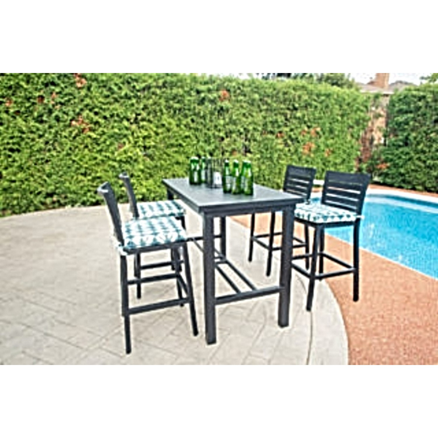 Coral Outdoor Bar Set