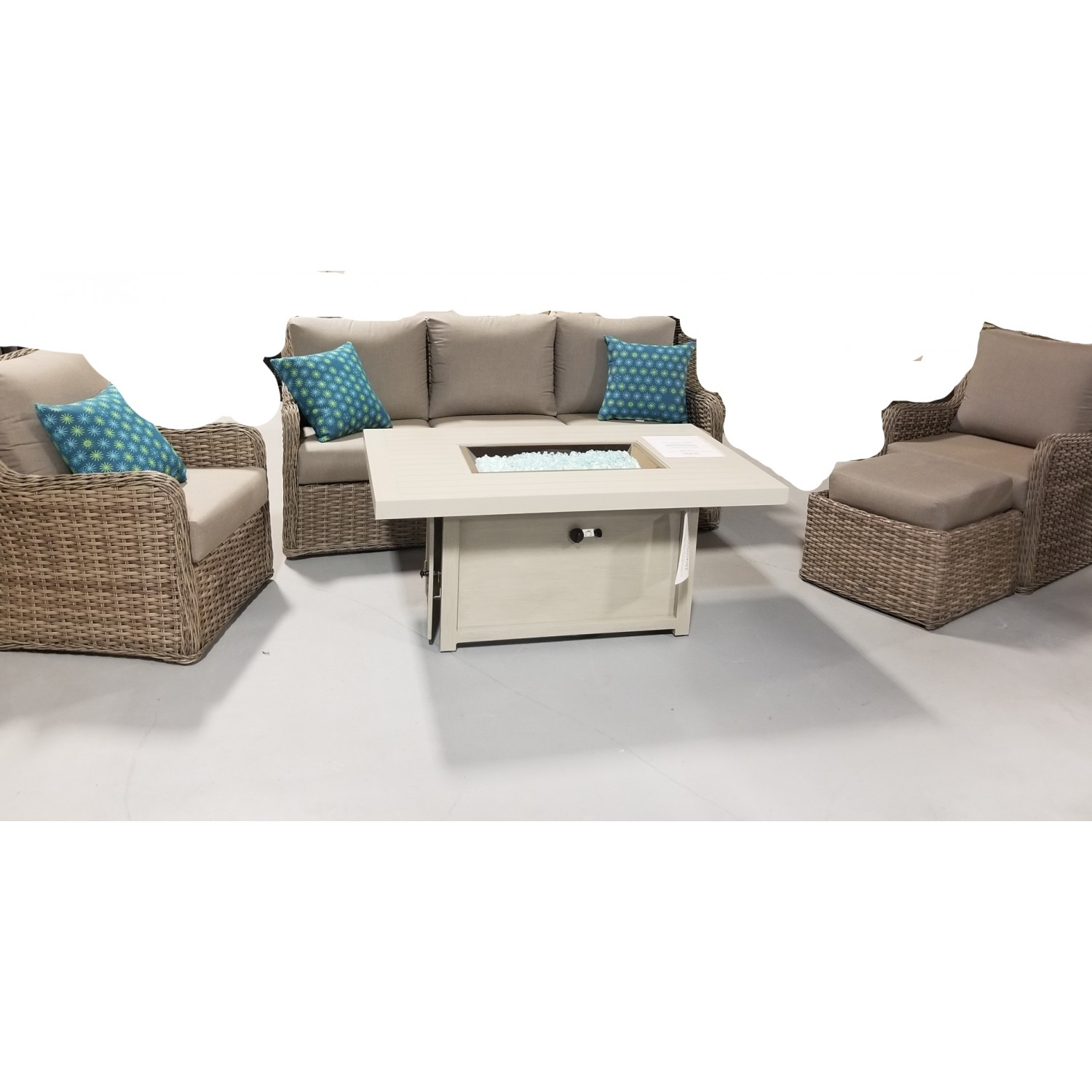 Dune Outdoor Sofa Set Blonde