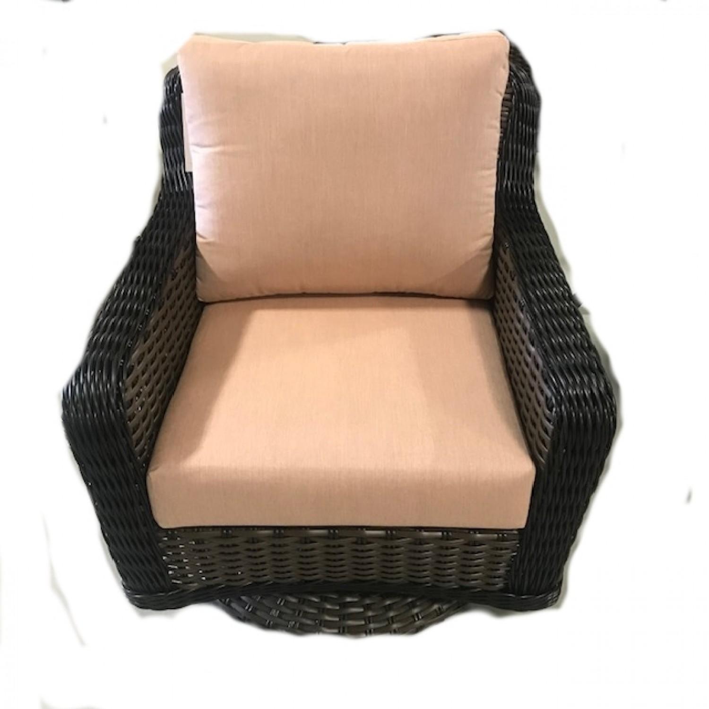 Elora Outdoor Swivel Chair