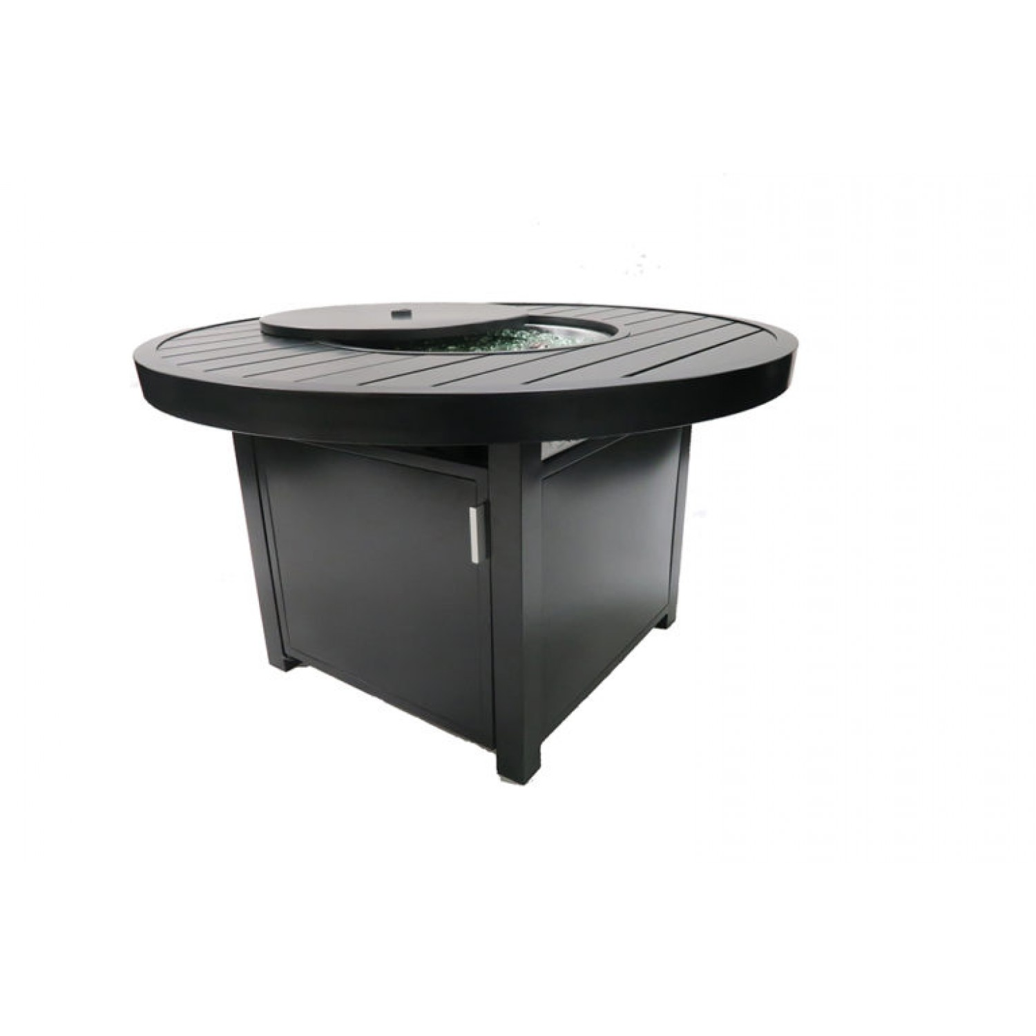 Enclover Round Fire Table