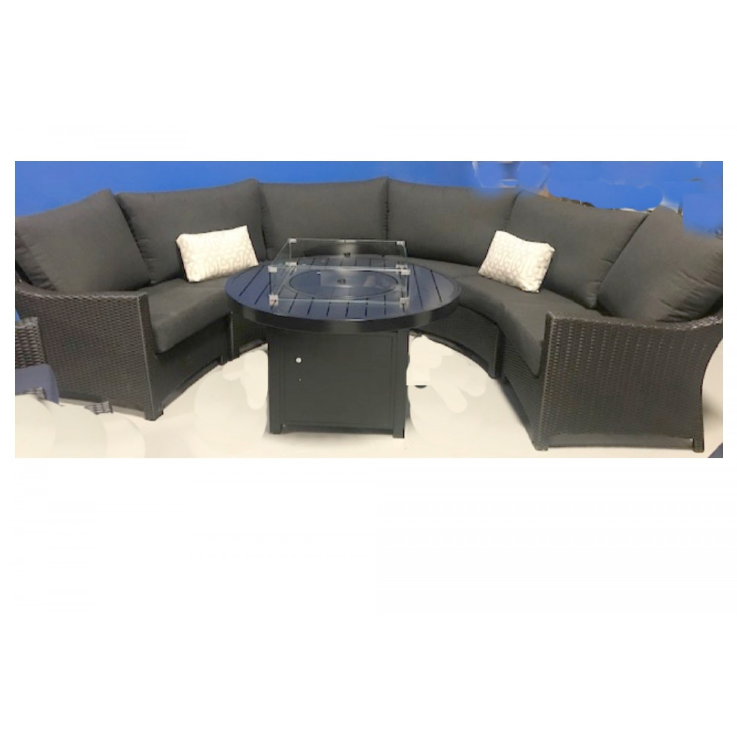 Flight Curved Outdoor Sectional