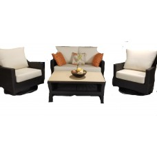 Flight Outdoor Love Seat Set