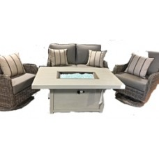 Dune Outdoor Love Seat Set