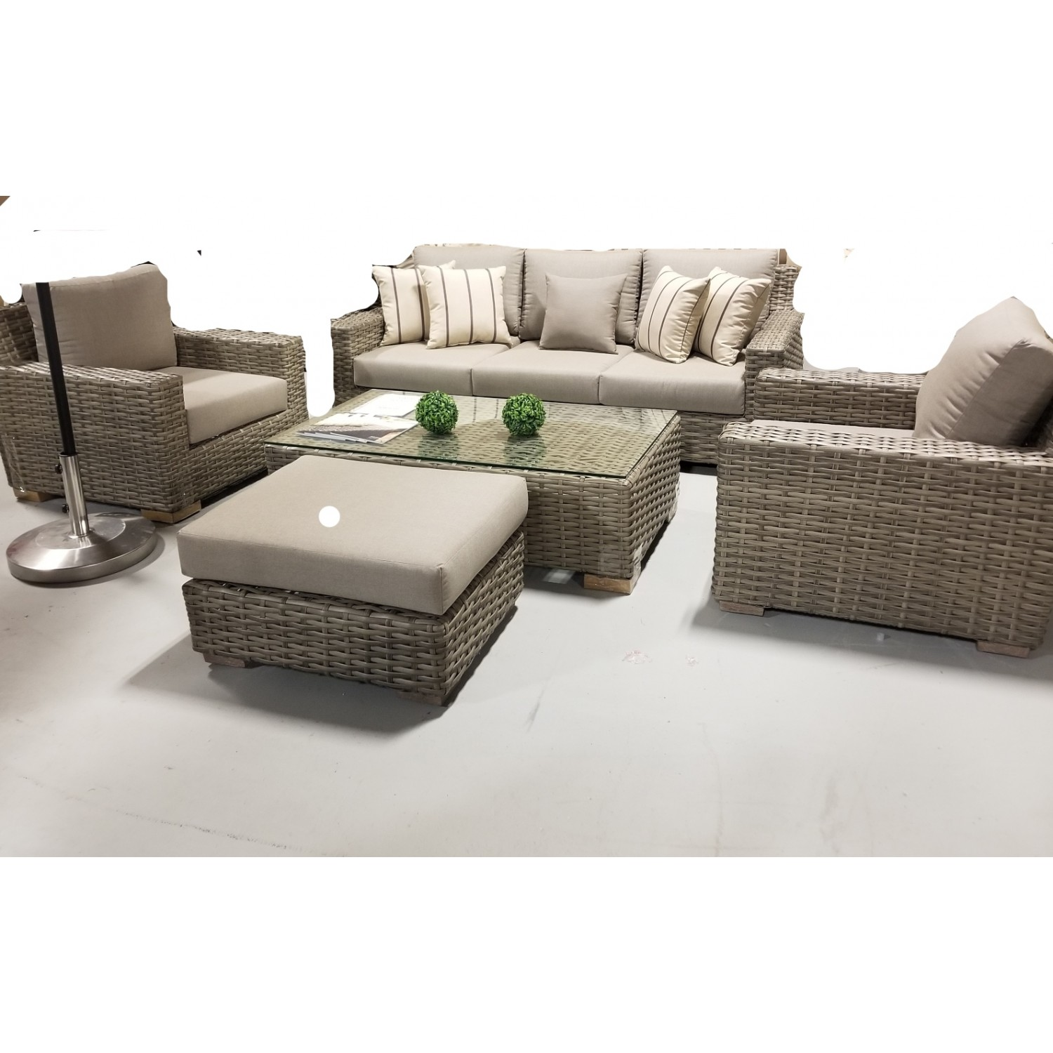 Jasmine Outdoor Sofa Set