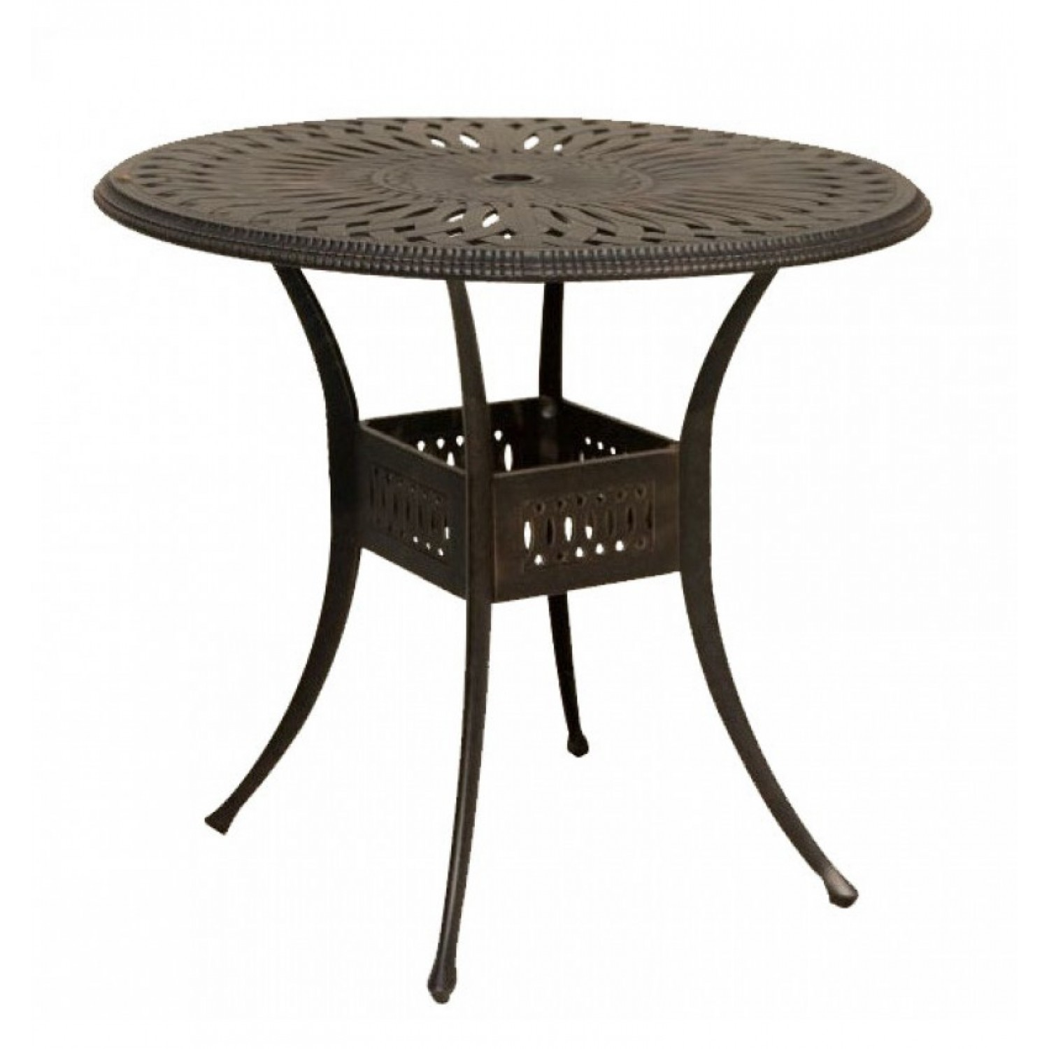 Maxwell Outdoor Round Bar Table
