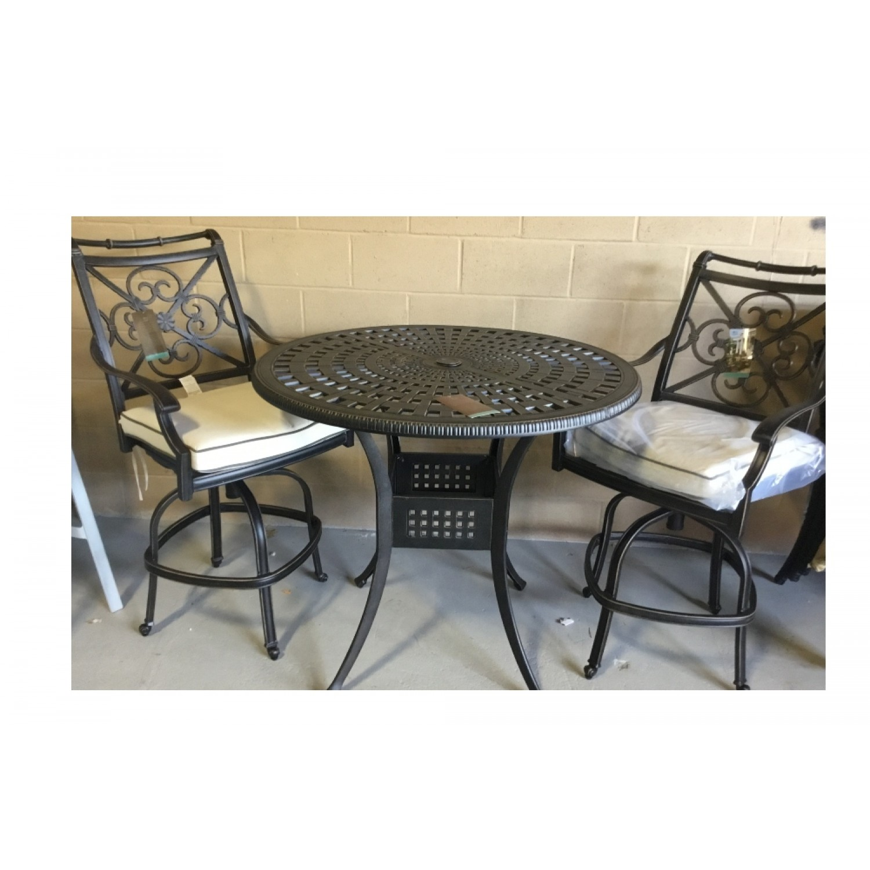 Maxwell Outdoor Bar Table Set
