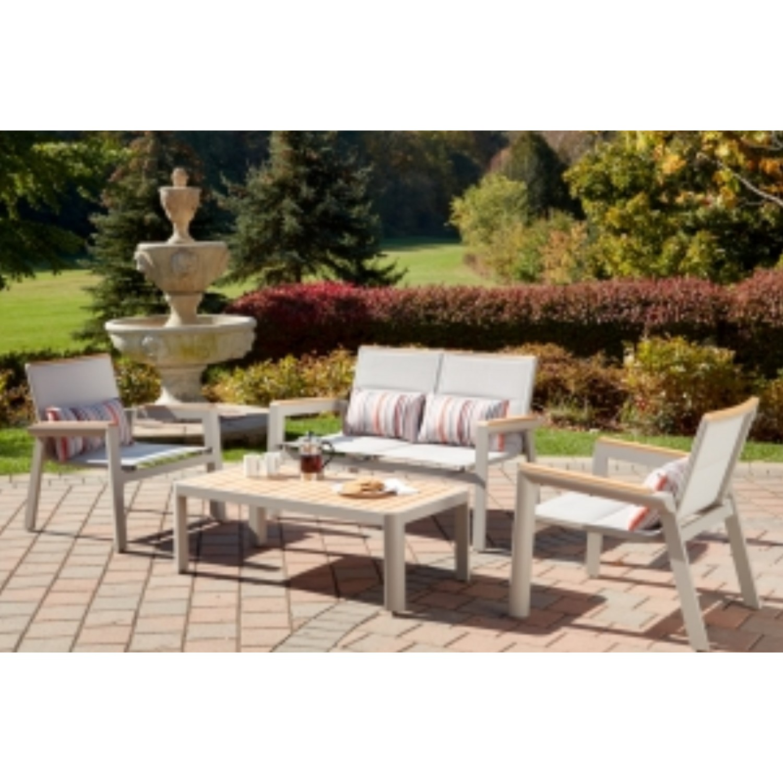 Medeira Outdoor Love Seat Set