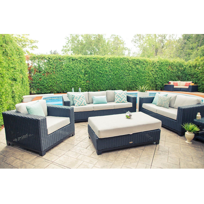 Trillium Outdoor Love Seat Set