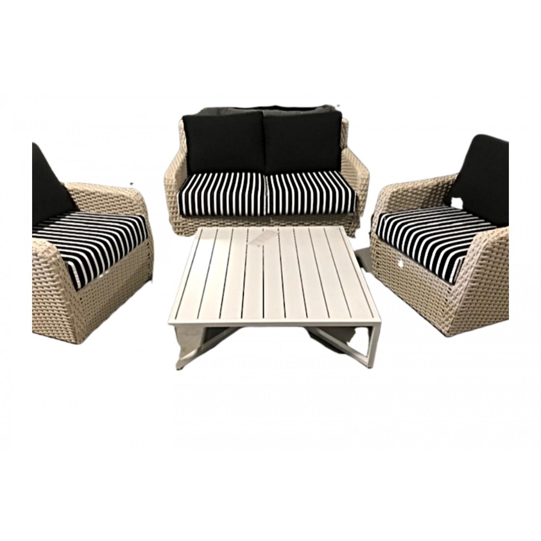 Zen Outdoor Love Seat Set